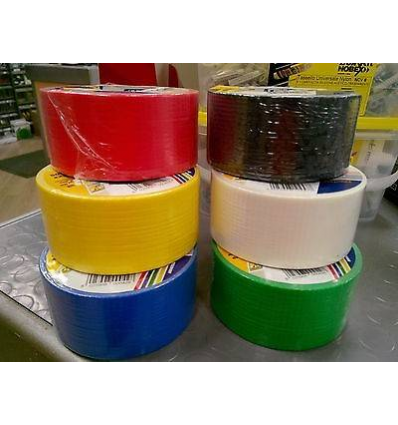 NASTRO AMERICANO ACTION TAPE PANFILM MM 50X25 METRI COLORE ROSSO MADE IN ITALY
