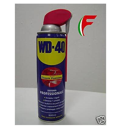 WD40 SPRAY MULTIUSO LUBRIFICANTE SBLOCCANTE WD 40 500ML
