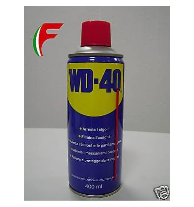 PZ. 6 WD40 SPRAY LUBRIFICANTE SBLOCCANTE WD 40 400 ML