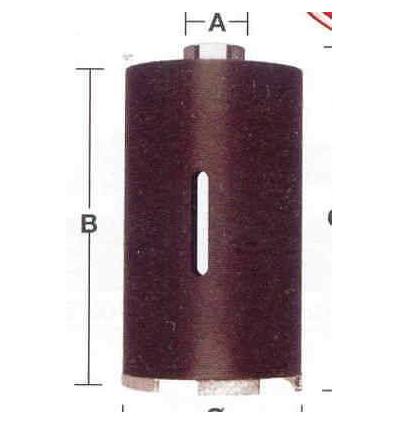 TAZZA CORONA DIAMANTATA A SECCO MILWAUKEE MM 62 X 150
