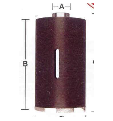 TAZZA CORONA DIAMANTATA A SECCO MILWAUKEE MM 102 X 150