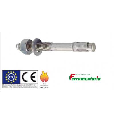 Tassello Nobex acciaio S-KA 10/20 mis. 10x102