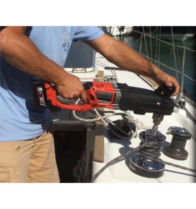 Trapano angolare 2 velocita 18 Volt Tecnologia FUEL senza batteria - Articolo con spedizione gratuita