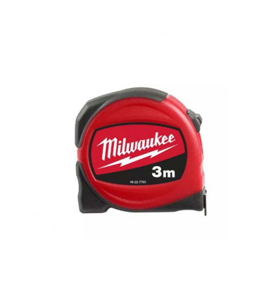 FLESSOMETRO MILWAUKEE SLIM 3 METRI nastro 19 mm