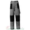 Pantalone ISSA Stretch cotone grigio/nero